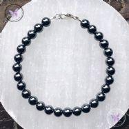 Classical Hematite Bracelet
